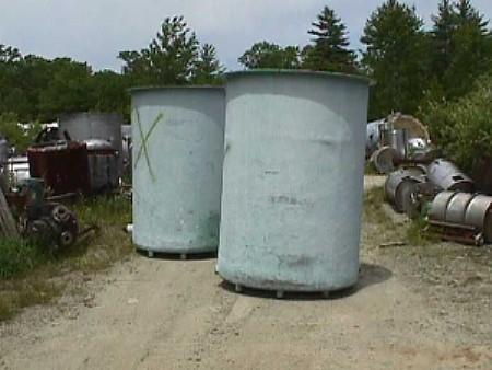 550 Gallon Fiberglass Tank | Used Process Equipment Sales